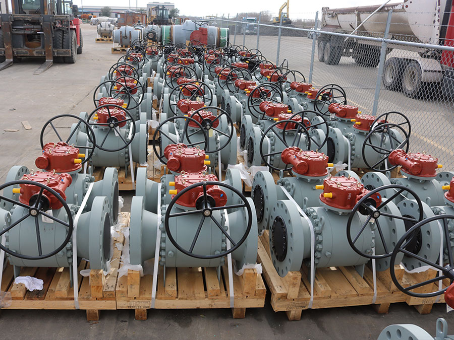 Energy Equipment valve lineup
